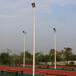 鞍山室外球场灯光设计优格两节式灯杆一杆多灯照明厂家