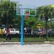 徐州室外广场埋地式篮球架厂家优格埋地式方管圆管篮球架直销