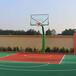 泰州室外球场篮球架厂家价格优格平箱凹箱移动篮球架现货出售