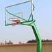 南通室外标准伸臂篮球架供应优格埋地式方管篮球架厂家