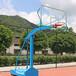 江苏大丰户外篮球架厂家供应优格篮球架优质方形钢管箱架