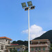 黔南州户外锥形球场灯杆/优格优质镀锌管球场灯杆标准价格