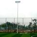 黔西南埋地式户外球场灯杆厂家/优格球场灯光照明颜色定制安装