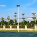 福州大学篮球场灯杆照明厂家/优格室外球场灯杆出售现货