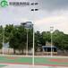 漯河室外篮球场灯杆安装设计/优格6-10米球场灯杆多款式供应