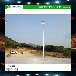 池州l8米篮球场灯杆专业安装/优格2017锥形两节式球场灯杆厂家