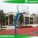 五指山SMC復合籃板籃球架/優格YG-152圓管埋地籃球架批發
