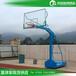 淮南户外球场篮球架直销批发优格透明篮板篮球架厂家安装
