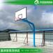 郑州公园广场篮球架透明钢化篮板篮球架优格厂家批量供应