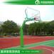 西双版纳户外篮球架/优格YG-138升降式球场篮球架款式颜色