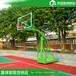 迪庆户外运动球场篮球架/优格YG-133平箱篮球架标准规格生产