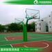 山东锥形埋地式篮球架优格透明板篮球架优质钢材安装供应