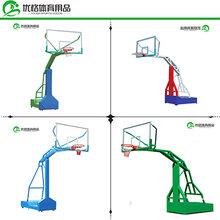 信阳户外篮球架多少钱优格采用优质钢材篮球架安装供应