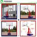 新疆电动手动升降式篮球架/优格仿液压平箱篮球架厂家直销