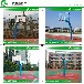 宁夏户外锥形篮球架厂家优格透明板篮球架优质钢材生产厂家