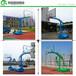 邵通室外凹箱篮球架批量供应/优格YG-218移动篮球架生产厂家