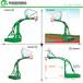 儋州原裝籃球架凹箱平箱籃球架廠家優格透明籃板安裝供應