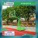 凉山户外移动篮球架厂家/优格仿液压透明篮板篮球架现货出售