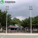 仙桃标准篮球场灯杆照明厂家/优格镀锌管球场灯杆新款供应