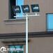 西宁球场灯杆安装方案厂家镀锌高灯杆款式颜色定制设计