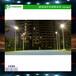 海口哪里有室外球场灯杆照明优格镀锌管篮球场灯杆供应厂家