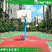 泰安优质钢材篮球架生产厂家钢化透明板篮球架防腐防锈