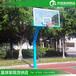 棗莊現貨出售籃球架伸臂籃球架透明籃板質量好經久耐用