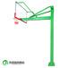 松原户外篮球架送货安装钢化玻璃透明篮板更安全更耐用