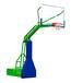 玉树哪里有户外篮球架批发优格锥形埋地篮球架透明篮板