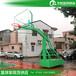 海北室外篮球架供应升降式透明篮板篮球架厂家送货安装