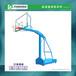 陇南户外运动球场篮球架标准成人比赛篮球架规格定制厂家