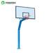 太原标准成人篮球架户外锥形埋地式篮球架多种款式颜色
