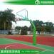 郴州哪里有户外篮球架厂家优格锥形埋地式篮球架上门安装