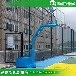 榆林优质篮球架供应现货锥形埋地式透明篮板篮球架厂家