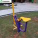 长沙学校健身路径安装户外休闲健身器材多种颜色款式