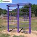 通化休闲运动器材厂家标准健身路径安装定制款式颜色