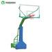 哈尔滨埋地式方管圆管篮球架学校成人比赛透明板篮球架
