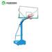黑河埋地式标准篮球架伸臂式透明篮板篮球架可送货安装