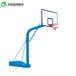 大庆户外电动液压篮球架上门安装优质钢管箱架透明板篮球架