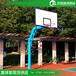 淮南成人比赛锥形埋地式篮球架优格smc复合纤维篮板定制选购