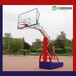 户外篮球架安装方式透明篮板活动篮球架多少钱?优格质优价廉