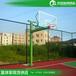 芜湖有室外篮球架厂家优格埋地式透明篮板球架厂家物流发货