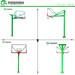 长治圆管篮球架厂家直销优格移动篮球架可根据客户要求定制