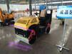 河北沧州1吨压路机全液压压土机双钢轮压实机厂家