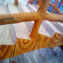 仿木栏杆,建筑护栏精品批发零售,河南天目水泥仿木栏杆厂家图片