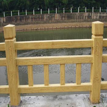 河南天目供應新型水泥欄桿,水泥建筑護欄工藝品