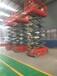 武漢武昌升降機廠家自行走高空作業平臺14米12米全自動升降機移動剪叉式升降機臺