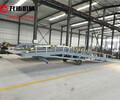 河北石家庄厂家定制6吨移动式登车桥液压卸货平台手动液压登车桥机械式登车桥