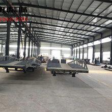 辽宁营口厂家现货供应10吨移动式登车桥物流装卸平台调节板可移动集装箱装卸登车桥