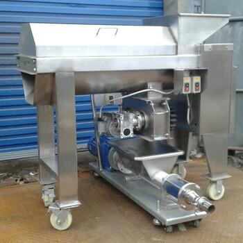 新乡小型全不锈钢家用实验室用葡萄破碎除梗榨汁机CGP-0.5厂家直销